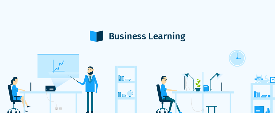 Création du site Business Learning