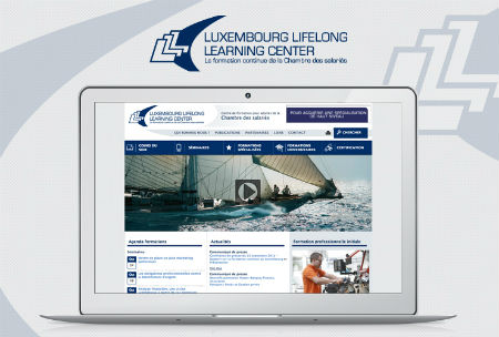 Site internet LLLC - Luxembourg Lifelong Learning Center