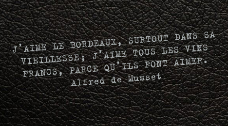 citation de Alfred de Musset sur le vin