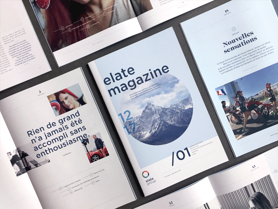 magazine elate group