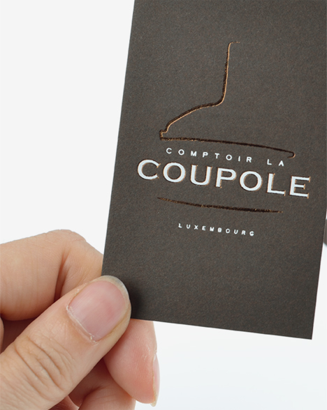 Corporate Comptoir la Coupole - carte de visite