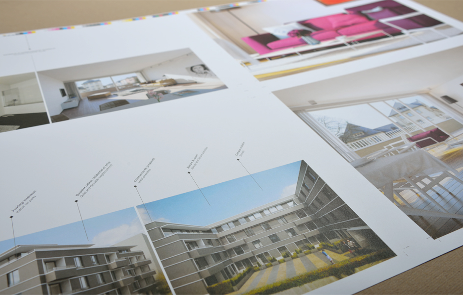 Corporate - brochure Le Lavandier, projet immobilier