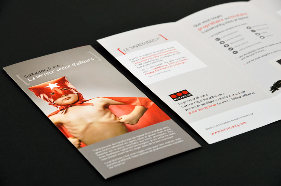 Flyer - Luxsecurity Luxembourg