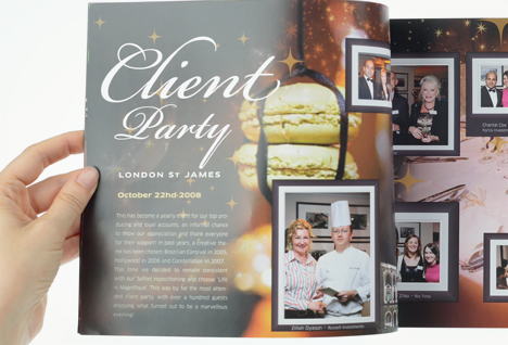 Sofitel Luxembourg - Brochure - page Client Party