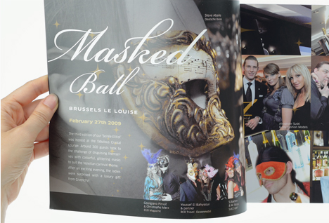 Sofitel Luxembourg - Brochure - page Masked Ball