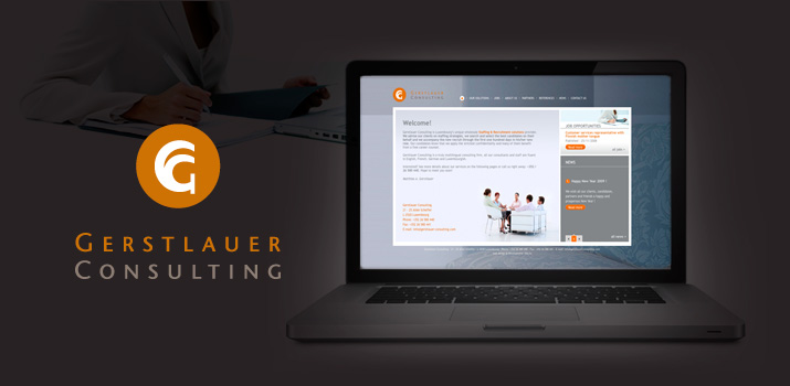 Site web Gerstlauer Consulting - Ressources humaines et recrutement
