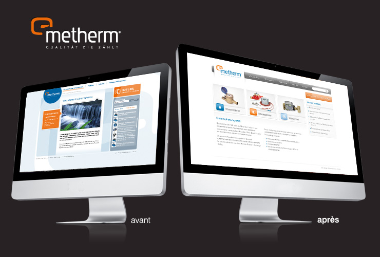 Site internet Metherm